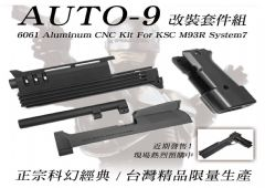 SALE!!was 420usd Mafioso Auto9 aluminium kit for Ksc taiwan M93r system7
